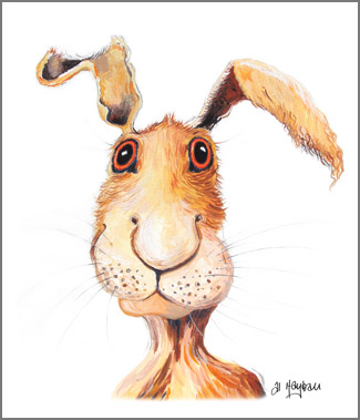 Archie the hare,